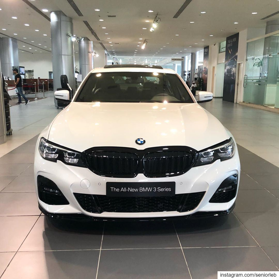 The New 3 Series With The M Performance Parts Looks Very Aggressive
