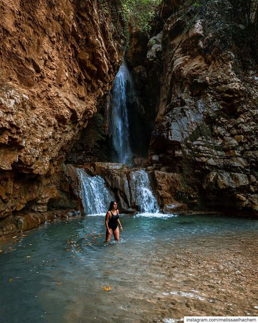 The true meaning of summer ☀️secret spots like this, waterfalls &... (Lebanon)