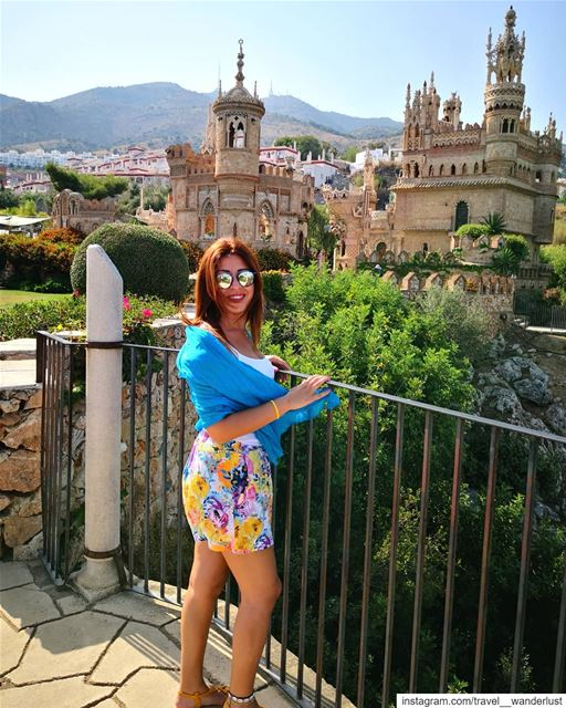Hola. 🇪🇸--- TakeMeTo  Costadelsol  spain  benalmadena  Passion ... (Castillo de Colomares)
