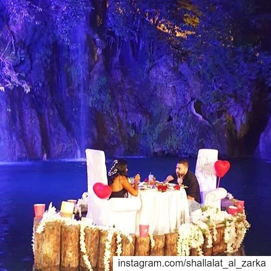 Our romantic dinner ✨✨✨... roadtrip  lebanonroadtrip  lebanon ... (Baakline, Mont-Liban, Lebanon)