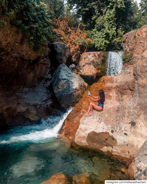 This summer's all about exploring waterfalls and living naturally free;... (Lebanon)