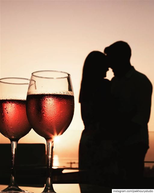 Here's to cold Wine, Sunsets & Love.From our collaboration with @nipponsus (Nippon Sushi & Grill)