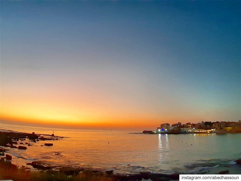 My reward after a very long day...🌊 🌅 🌊...Batroun | البترون....... (Batroûn)