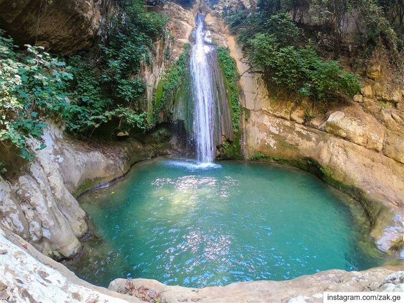 Found out this on the way.. Natural pool   lebanontimes  leb  lebanon ... (Lebanon)