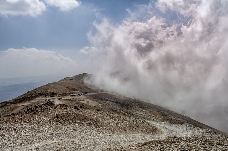 Clouds Attacking the Mountains (North Lebanon)
