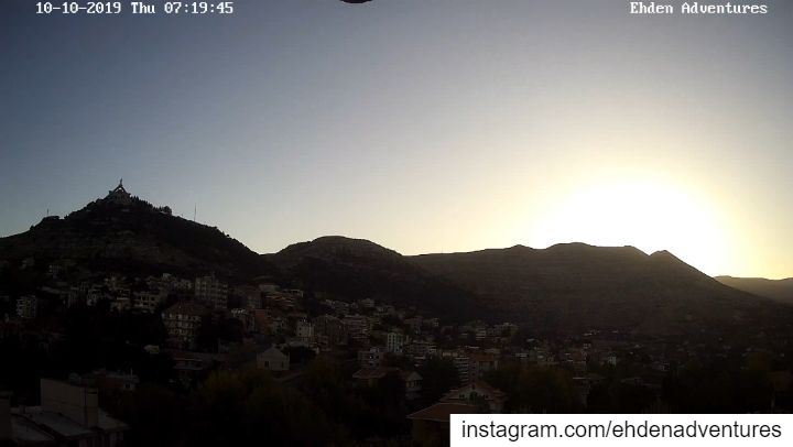 sunrise  autumn  fall  ehdenadventures  camera  lebanon  morning  town ... (Ehden, Lebanon)