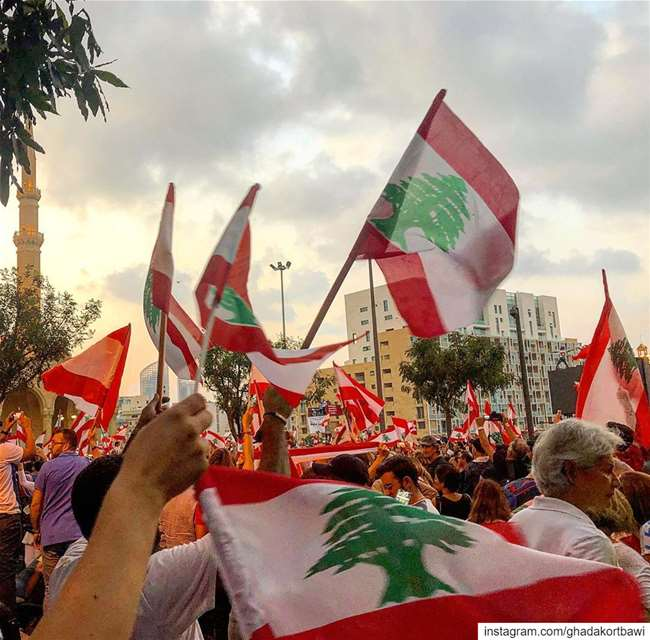 The one and only..... onlyonelebanon ... (Martyrs' Square, Beirut)
