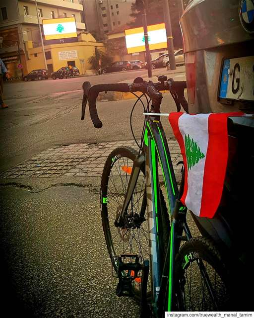 Lebanon is tired of All of you..This flag is sick of your conditional... (Beirut, Lebanon)