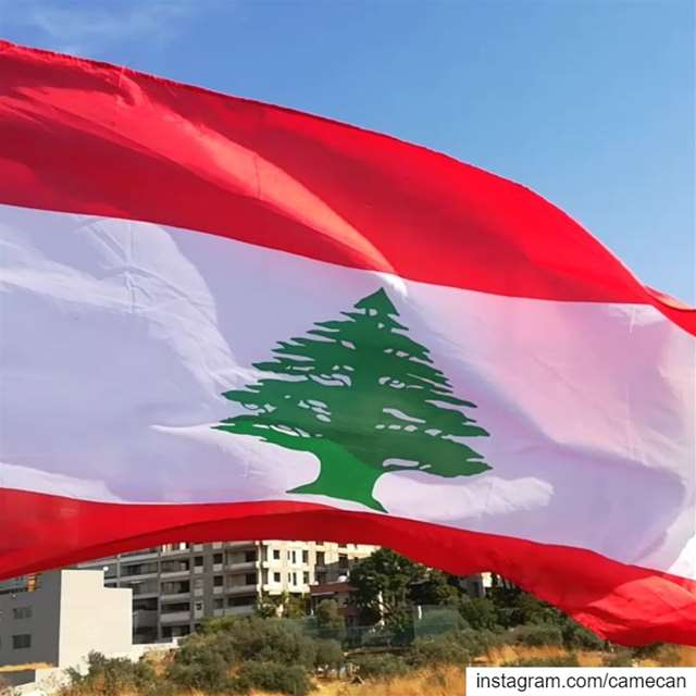 lebanon  baabda  lebanese  flag  livelovelebanon  livelovebeirut ...