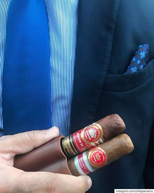 See you.... suit tie blue event private vip cigar cigars cigaroftheday...