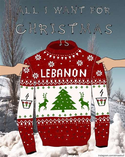 - Make my wish come true 🎅🏼🇱🇧 -..... christmas  livelovebeirut ... (Lebanon)
