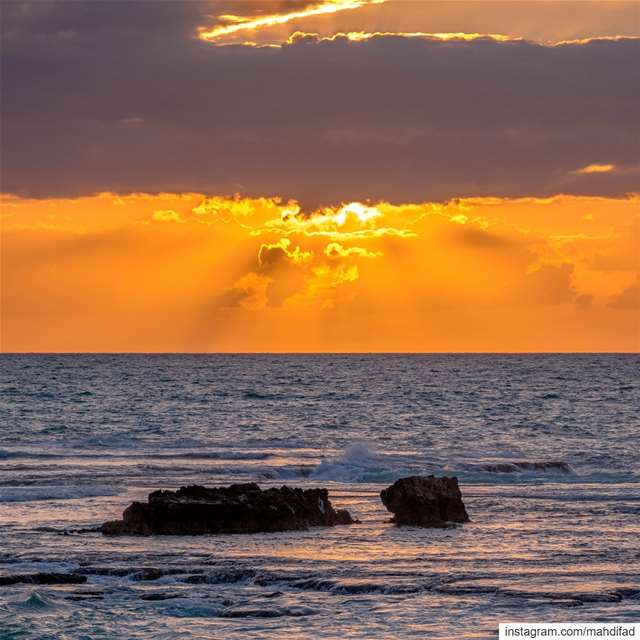 Sunset pysglb sea Byblos jbeil  clouds lebanon photography... (Byblos - Jbeil)
