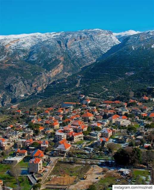 Winter is not a season, it is an occupation .. ============================ (Douma, Liban-Nord, Lebanon)