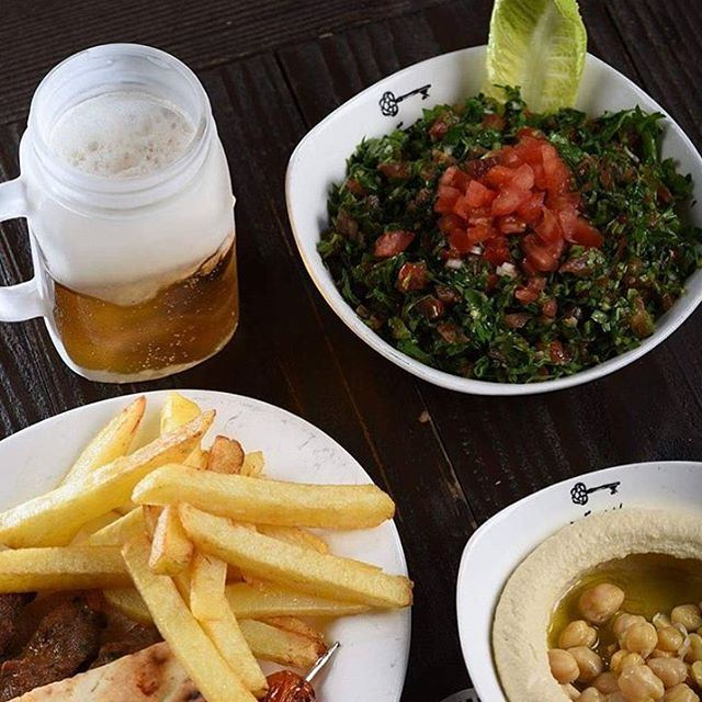Even If Its Rain At Beitnazha At Jbeil Still Open And I Am Eating