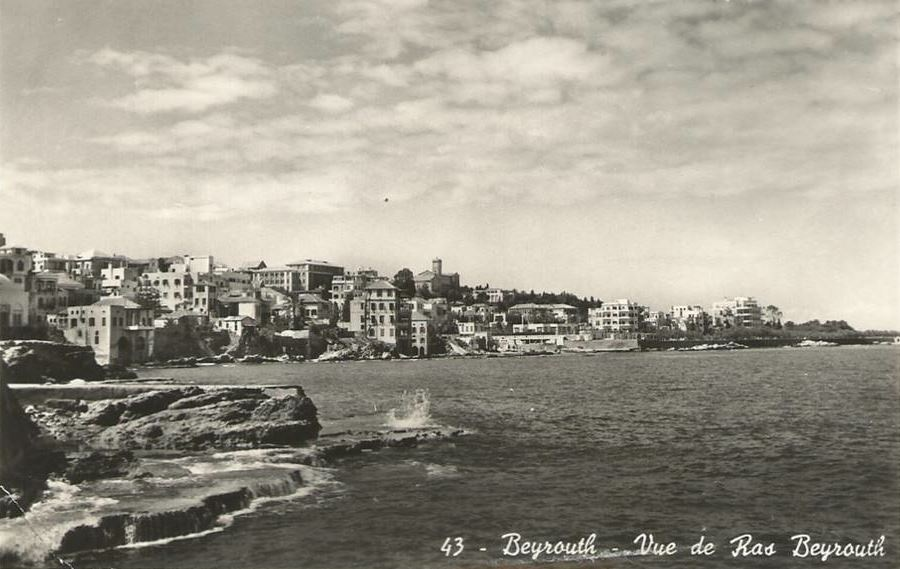 Beirut Seafront 1920s Lebanon In A Picture