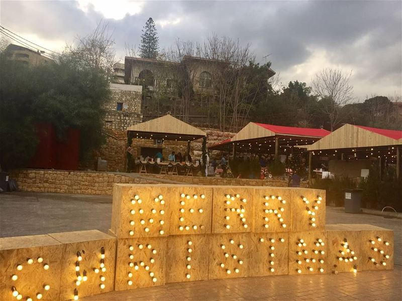 Last day to go... experience the happiest Christmas market (Antelias)
