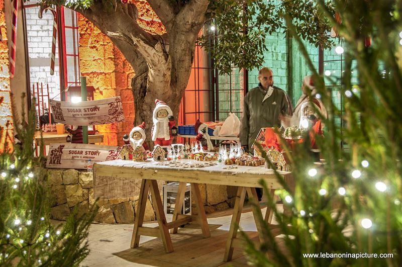 Christmas Village and Souk El Akel (Antelias, Lebanon)