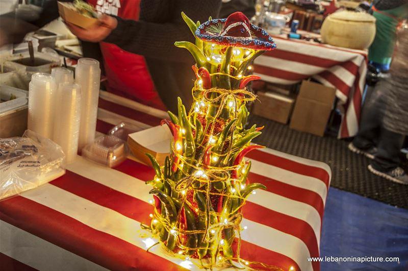 Chili Christmas Tree - Souk El Akel (Antelias, Lebanon)