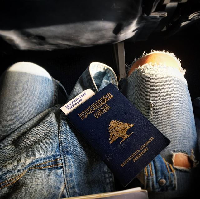Of the best stories.. Those written above sky wings ❣ vacation mode 🔛... (Beirut International Airport Departure)