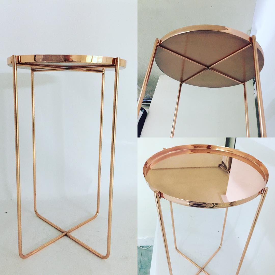 Order Your Red Brass Side Table Handmade Home Deco Furniture .