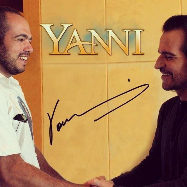 meeting with yanni fourseasons best muscisian my favorite