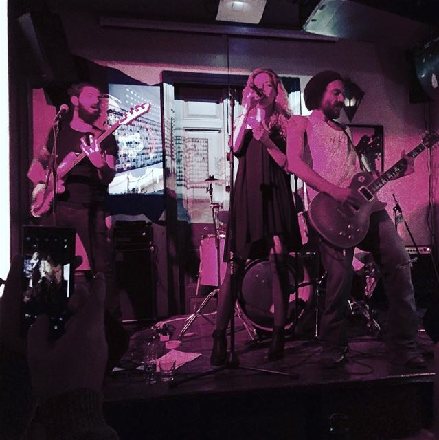 Rock the picture rubyroad radiobeirut band livemusic lebanon ... (Radio Beirut - Mar Mkhael)