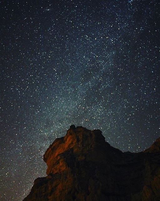 Counting stars tonight.. milkyway  stars  universe  findyourself ... (Bcharré, Liban-Nord, Lebanon)