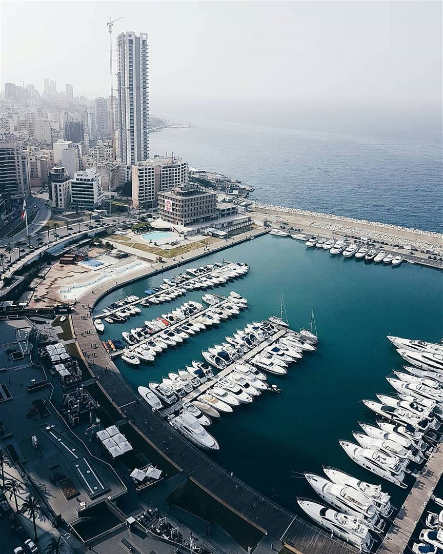 This is the perfect view on Beirut's Zaitunay Bay. ??By ...
