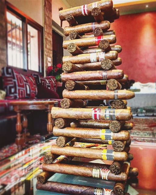 cigar cigarsociety  cigarcollector  cigaroftheday  collection ... (Jezzîne, Al Janub, Lebanon)