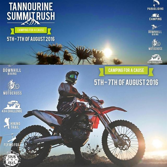 Helmets-On will be participating in Tannourine Summit Rush.... Off-Road...