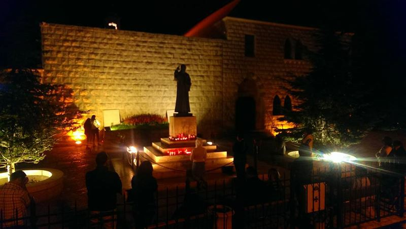 Pray for Lebanon  prayforparis  prayforlebanon  prayfortheworld ... (Annaya - Saint Charbel.)