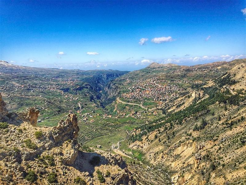 """Kadisha"" or the ""Holy"" Valley is a  gorge that lies within the Becharre... (Kadisha Valley)"