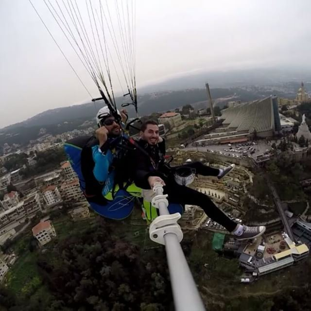 today  happy  smilie  withus  70660250  beirutparagliding  activite  fly ...