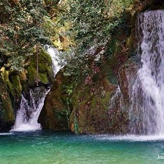 Shalalet Zarka waterfall, Baaklin, Shouf  waterfall  baaklin shouf chouf...
