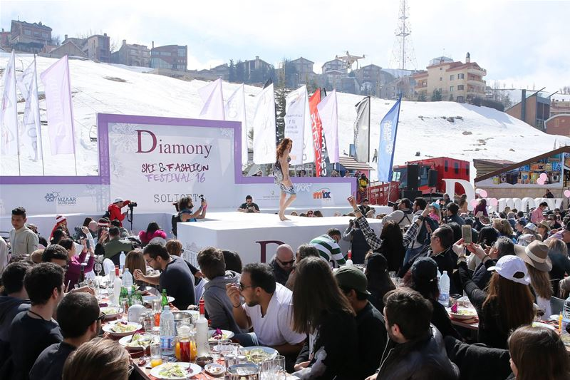 Diamony Lingerie Fashion Show 2016 at InterContinental Mzaar Lebanon Mountain Resort & Spa.