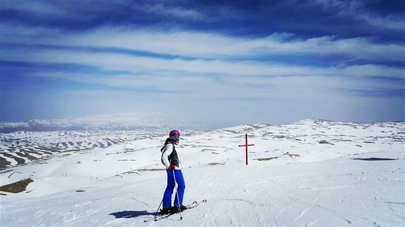 Tomorrow tomorrow, I love you tomorrow  ski  snow  mountains  mzaar ...