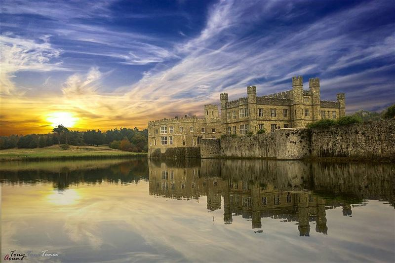 People will come and go in life, but the person in the mirror will be... (Leeds Castle)