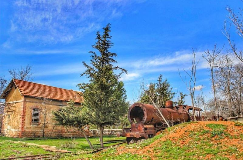 The first railway built in Lebanon, the Rayak train station is now an... (Rayak, Béqaa, Lebanon)
