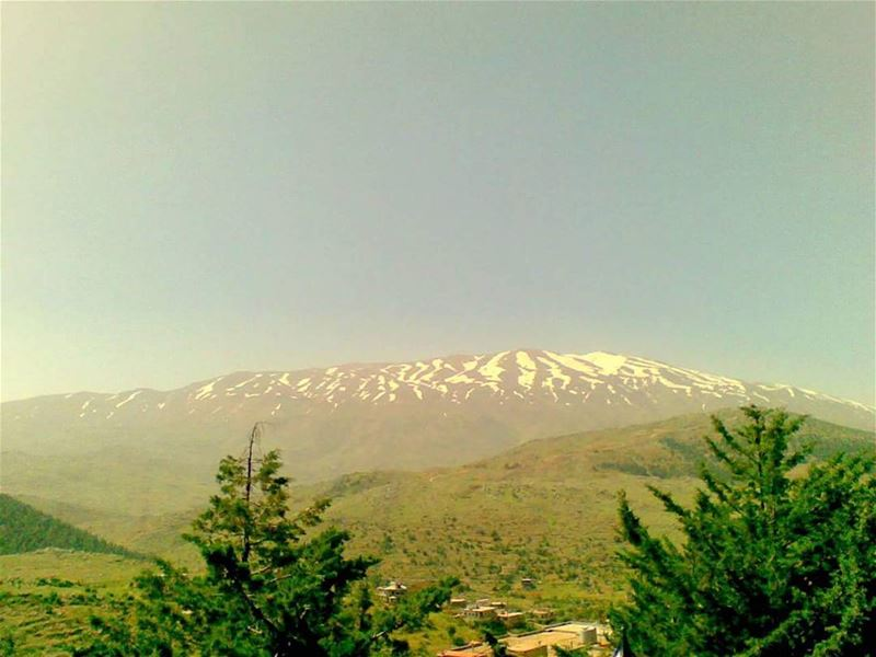 Mount HermonThe Only Mountain which Catches the Clouds to  Give Approval... (Rachaiya El Wede)
