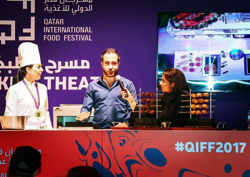 It was a great chance to be on the stage of @qiff.qa 2017 to explain about... (Sheraton Park ( Doha, Qatar ))