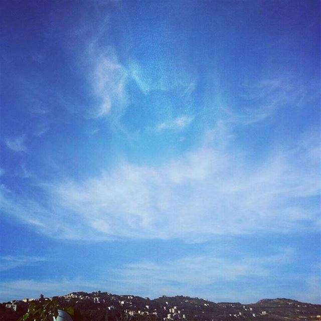 The sky is my limit!.  sky  clouds  goprooftheday  natureloversgallery ...