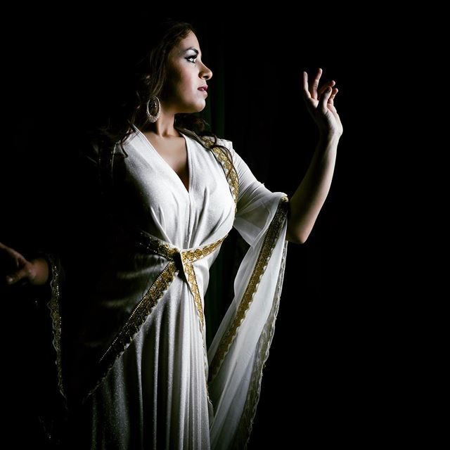 Reaching for the  light.Lara Jokhadar is a talented singer and the lead...