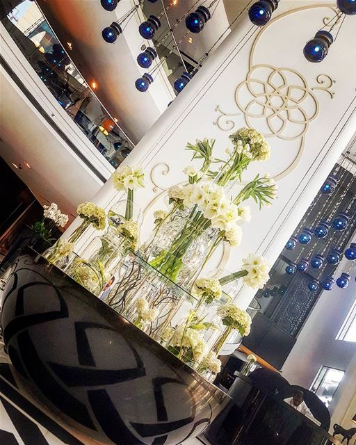 Leave a Little sparkle wherever you go...🌼🌼🌼🌼 myphoto @wdoha ... (W Doha Hotel & Residences)
