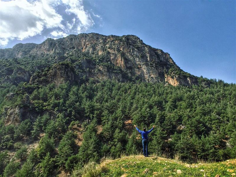 Just living is not enough... one must have sunshine, freedom, and a little... (Kadisha Valley)