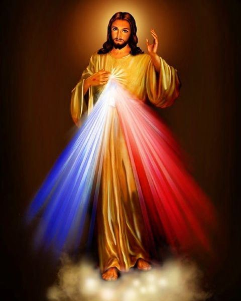 Happy Feast of Divine Mercy Sunday! SPEAK TO THE WORLD ABOUT MY MERCY. ...