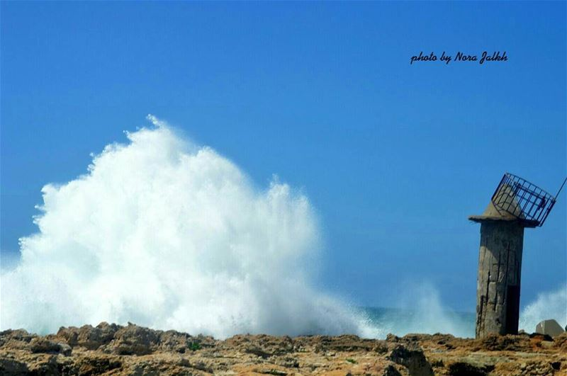 Crazy weather  batroun sea waves  lebanoninpicture  livelovelebanon ...