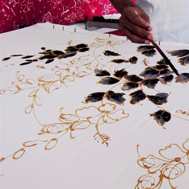Hand Drawn Batik, exclusive designs can be customized, most popular... (Penang, Malaysia)