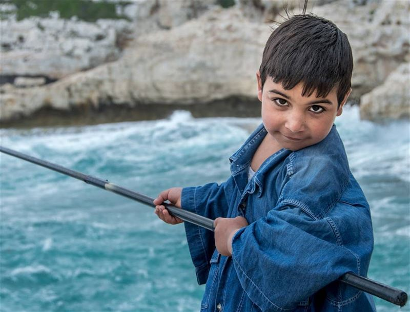 5 years old fisherman🎣🌊.... nikon100portraits nikon portraits... (Selaata)