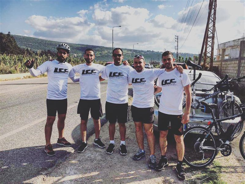 polyliban 🇱🇧biking uphill 82,6 km lebanese cycling club (LCC) first... (Al Mansuri, Al Janub, Lebanon)