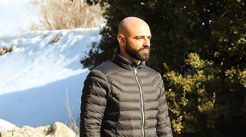 Tb 🔙 to when I shaved my head 😁 snow Lebanon beard  fitness ...